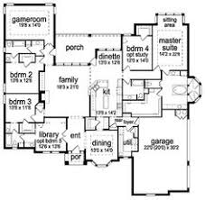 Jack And Jill Bathroom House Plans 2 Story House Floor Plans Two Story Colonial House Plan