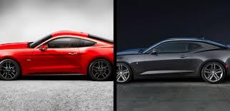 camaro vs mustang to 2017 ford mustang vs 2017 chevrolet camaro