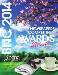 ocna 2014 bnc awards results booklet by ontario community