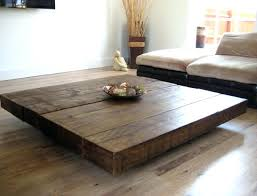 Square Wooden Coffee Table Modern Square Coffee Table Hermelin Me