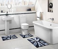 Navy Bath Rug Austin Tip Dye Bath Rug 20