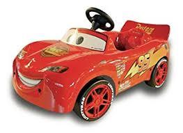 lighting mcqueen pedal car toys s r l 622454 cars lightning mcqueen pedal amazon co uk toys