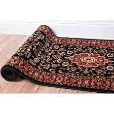 Black And Red Area Rugs by Large Red Rugs Uk Roselawnlutheran