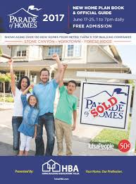 Tulsa Home Builders Floor Plans by Hba Tulsa About The Parade