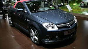 opel tigra opel tigra twintop gets faux soft top look