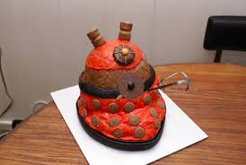 how to dalek smash cake u0026 doctor who themed birthday party make