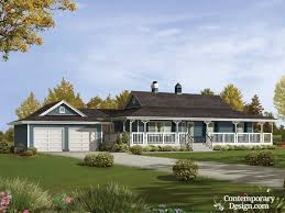 28 1 story house plans with wrap around porch one farmhouse and