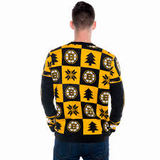 Boston Bruins Home Decor Boston Bruins Ugly Christmas Sweater Nhl 2016 Retrofestive Ca