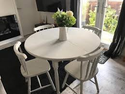 shabby chic large round dining table living room ideas