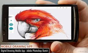 digital drawing mobile app adobe photoshop sketch