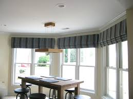 blue striped roman shades clanagnew decoration