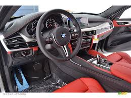 red bmw 2016 mugello red interior 2016 bmw x6 m standard x6 m model photo