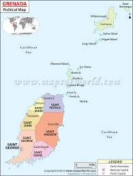 Map Of Southern Caribbean by Grenada Map Map Of Grenada
