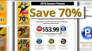 Free Tickets To Six Flags Margie U0027s Money Saver 70 Off Season Passes At Six Flags Fox2now Com
