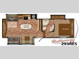 Fifth Wheel Rv Floor Plans by New 2014 Grand Design Reflection 293res Fifth Wheel At Bullyan Rv