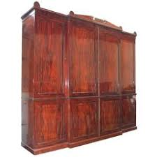 art deco mahogany compactom armoire wardrobe fitted closet at 1stdibs