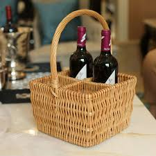 wine baskets online get cheap wine baskets gifts aliexpress alibaba