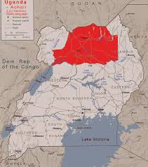 Lake Victoria Map Uganda The Country And The People Madi And Hamites Text In English