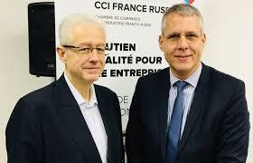 chambre de commerce franco russe rencontre avec philippe meunier vice président du conseil régional