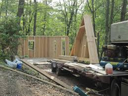 5 Car Garage by Watch A Two Car Garage Building Video By Sheds Unlimited