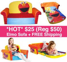 sesame street sofa 25 reg 50 elmo sofa free shipping free stuff finder