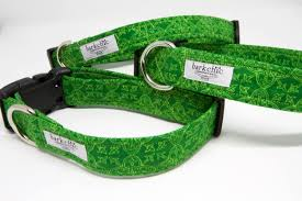 green celtic dog collar irish dog collar st patrick u0027s day