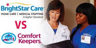 Comfort Keepers Va Brightstar Care Vs Comfort Keepers Brightstar Care Comparison