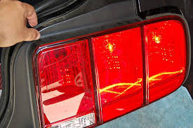 Brake Lights Wont Go Off Replace A Ford Mustang 2005 To 2009 Brake Light