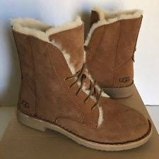 womens ugg ankle boots ugg australia block lace up boots for ebay