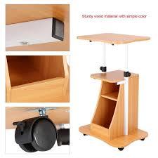 hauteur standard bureau ordinateur bureau informatique réglable en hauteur table avec roues couleur du