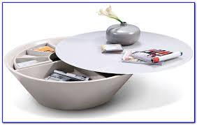 circular coffee table with storage coffee table home furniture