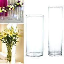 Tall Glass Vase Centerpiece Ideas Cylinder Vases Cheap Vase Set Bulk Tall Glass Centerpieces 26988