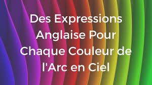 Couleurs En Anglais Francais Des Expressions Anglaise Pour Chaque Couleur
