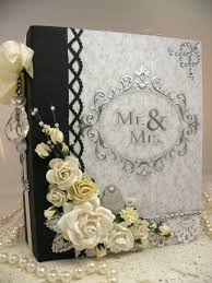 diy wedding albums ivory silk with snowflake brooch photo album from layla grayce