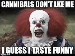 Funny Clown Memes - scary clown imgflip