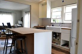 fabulous kitchen island with overhang including breakfast bar
