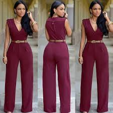 jumpsuit and rompers clubwear v neck playsuit bodycon jumpsuit