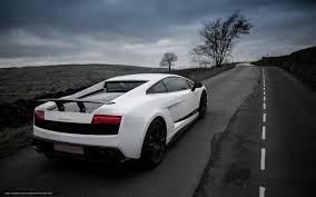 lamborghini gallardo back download wallpaper lamborghini gallardo superleggera white back