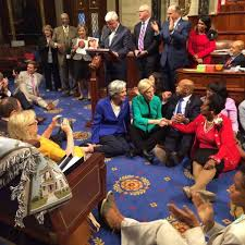 house democrats end marathon sit in without vote on gun control