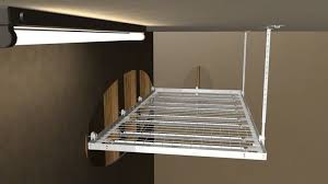 make your own hanging l build your own garage ceiling storage nytexas