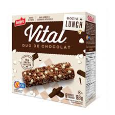 cuisine picnik duo vital chewy granola bars chocolate duo groupe biscuits leclerc