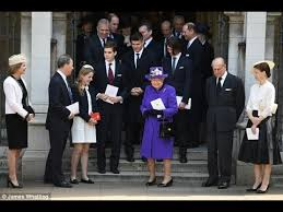 royals attended service of thanksgiving for lord snowdon