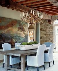 ceiling centerpiece dining room mediterranean with decorative