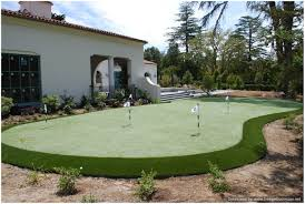 Backyard Putting Green Designs by Backyards Splendid Backyard Putting Greens 3 Green Kit Superb
