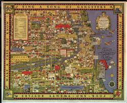 Map Chicago by Gangster Chicago Map 1931 Map Showing Turf Battles Of The 1920s