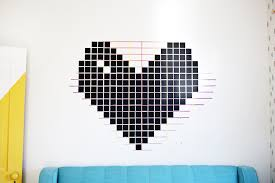 Washi Tape Wall Designs by Washi Tape Designs Peeinn Com