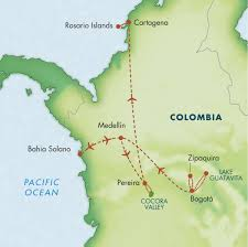 Bogota Colombia Map South America by Itinerary Colombia July 2015 Zegrahm Expeditions