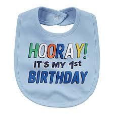 birthday bib s infant boys hooray it s my birthday bib