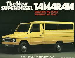 toyota diesel toyota diesel tamaraw pickup van garbage car advertising