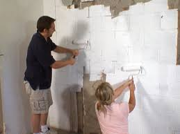Best Way To Wash Walls by How To Waterproof A Cinderblock Wall How Tos Diy